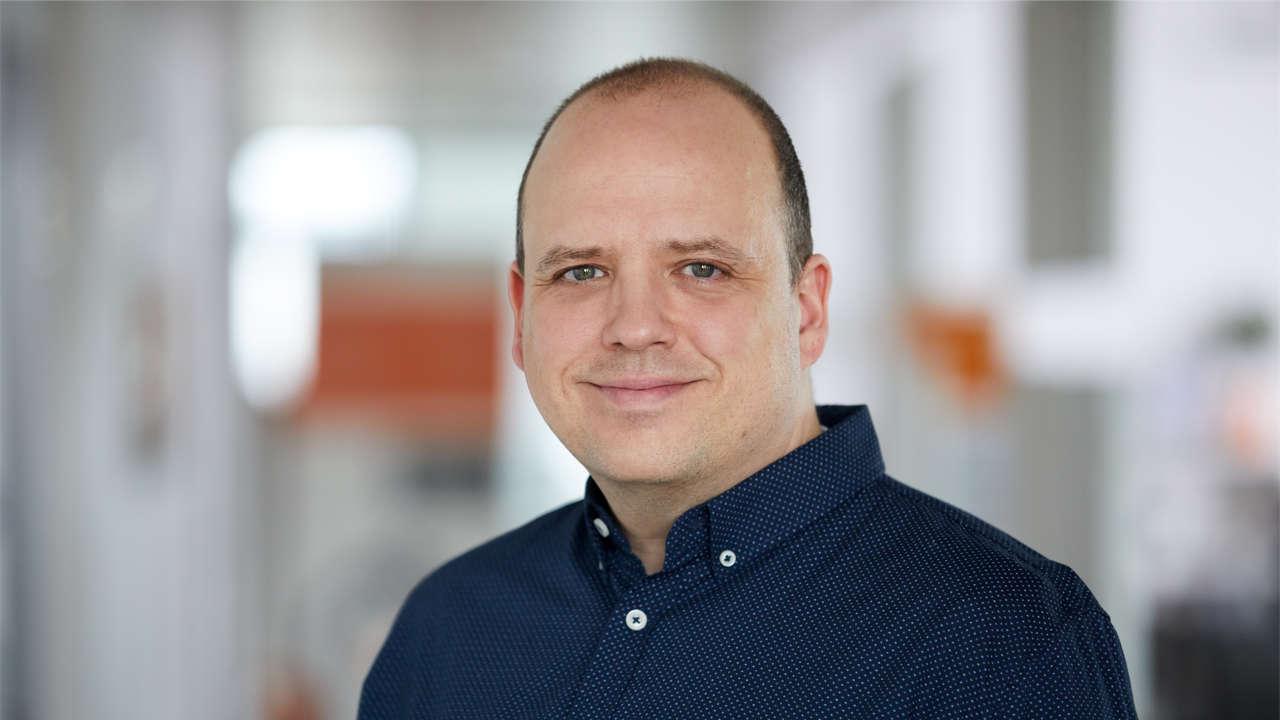Portrait von The Digitale COO Peter Bilz-Wohlgemuth
