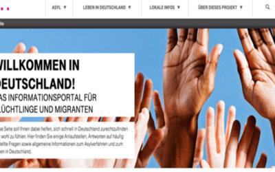 Telekom Flüchtlingsportal