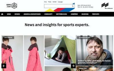 The Digitale verwirklicht für ISPO erstes Content Marketing Projekt auf Thunder